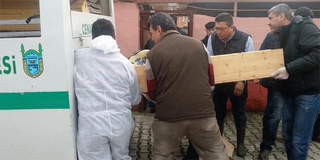 Bursa'da baltayla babasını öldüren evlat hakim karşısında
