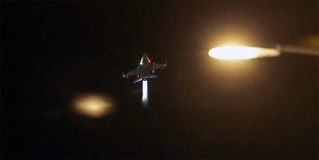 Darbeci hainler F16'ların vuracağı yerleri böyle işaretlemiş