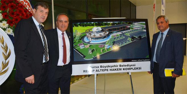 Bursa'ya bir tesis daha!