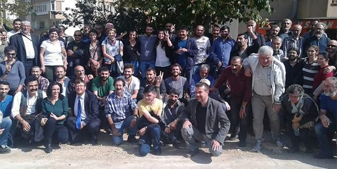 İzinsiz gösteride gözaltına alınanlar serbest bırakıldı