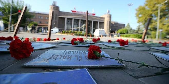 Ankara Garı'ndaki terör saldırısında yaşamını yitirenler anıldı