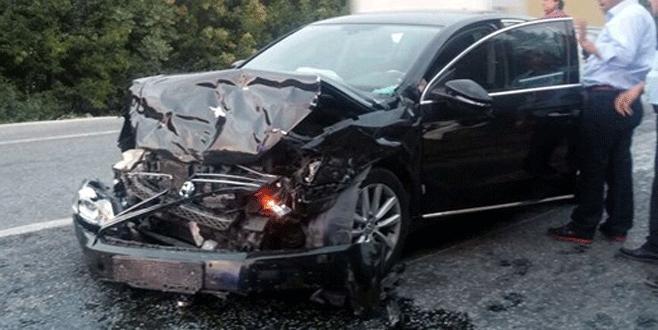 CHP milletvekili kaza geçirdi