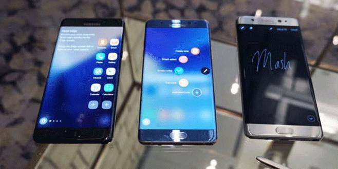 Samsung'da 'Note 7' depremi