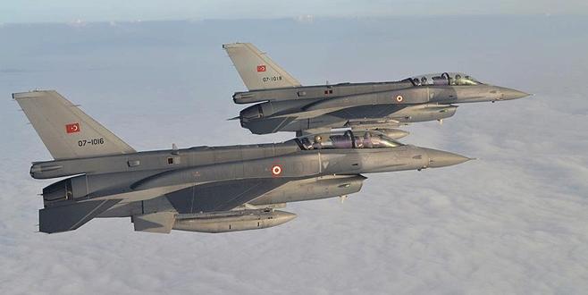 Irak'ın kuzeyine hava harekatı: 5 terörist etkisiz hale getirildi