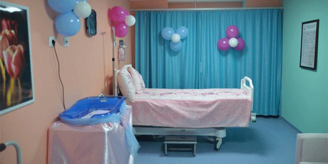 Engelli anne adaylarına doğum ünitesi