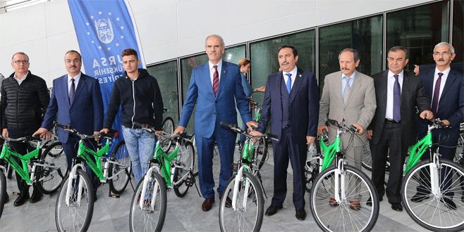 Büyükşehir'den toplumsal huzura bisikletli destek