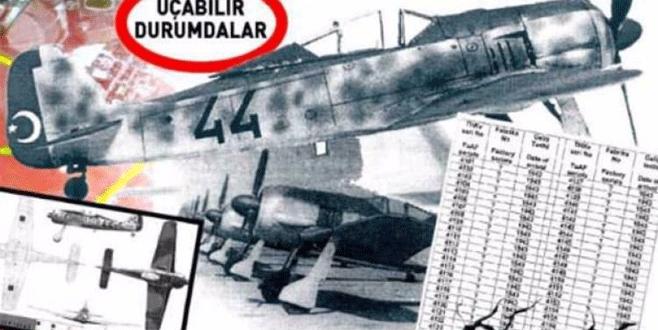 Gömülü savaş uçakları çıkıyor! 70 yıldır kamuoyundan saklanmış