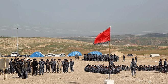 Türk askerlerinin eğittiği Ninova Muhafızları Musul operasyonuna katıldı