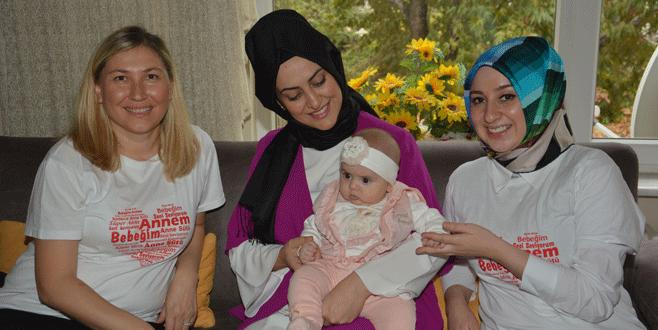 Doruk çalışanlarından annelere ev ziyareti