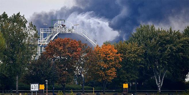 Almanya'da BASF şirketinde patlama