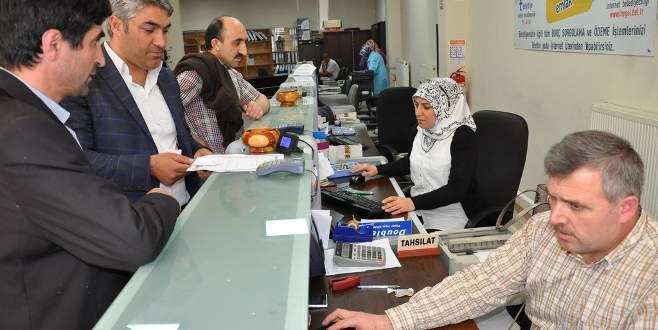 Bursa'da vergi yapılandırması devam ediyor