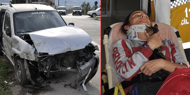 Bursa'da feci kaza: 6 yaralı