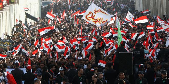 Bağdat'ta Türkiye karşıtı gösteri!