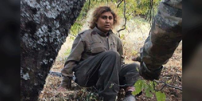PKK'lı kadın terörist böyle yakalandı!