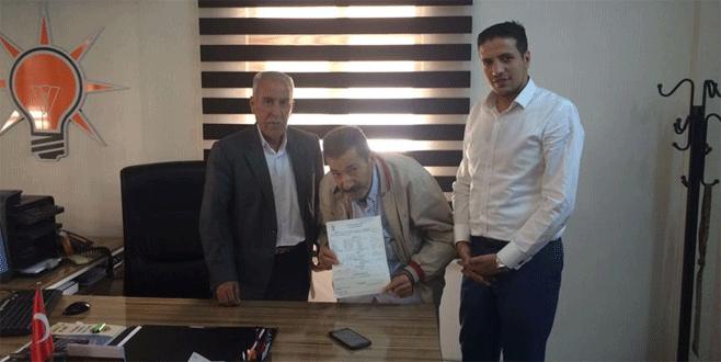 CHP'li Tanal'ın ağabeyi AK Parti'ye üye oldu