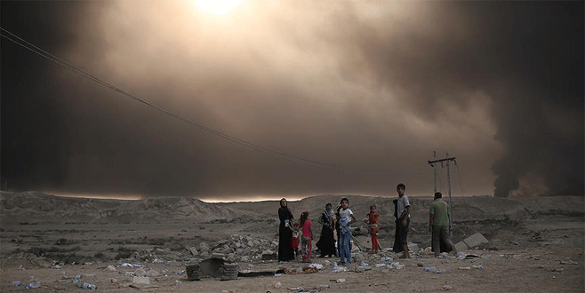 'Musul'da 1 milyon kişi yerlerinden edilebilir'