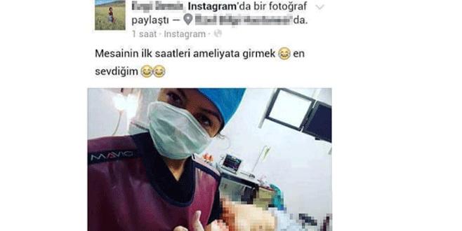 Bir hemşire skandalı da Ankara'da