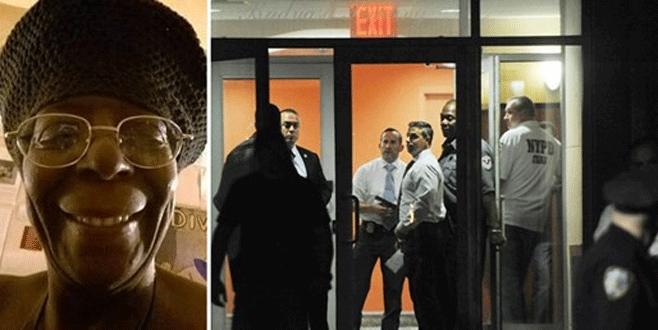 Polis siyah kadını vurdu