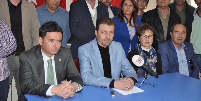 CHP İlçe Başkanı'na saldırı girişimine tepki