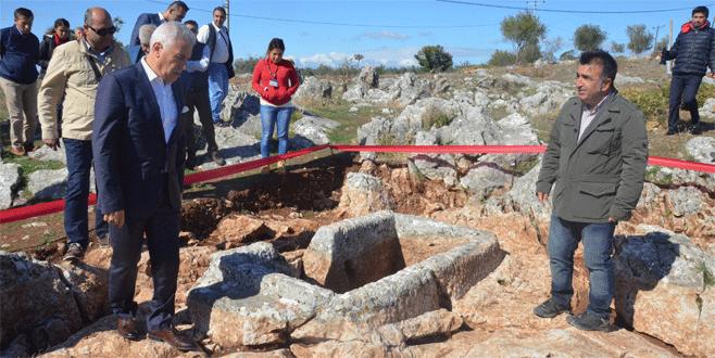 Bursa'da 2400 yıllık tarih gün yüzüne çıkıyor