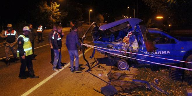 Malatya'da askerlere TIR çarptı: 1 şehit