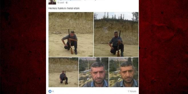 Sosyal medyadan helallik isteyip kendini vurdu