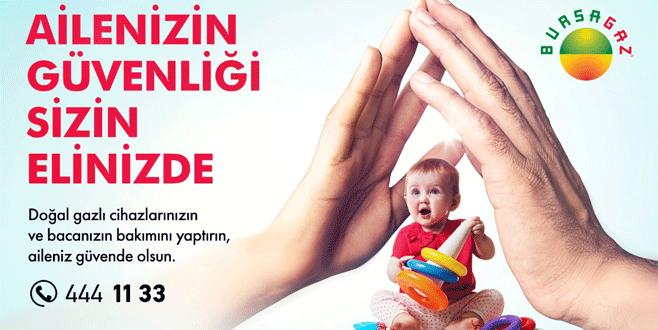 Bursagaz'dan yeni kampanya
