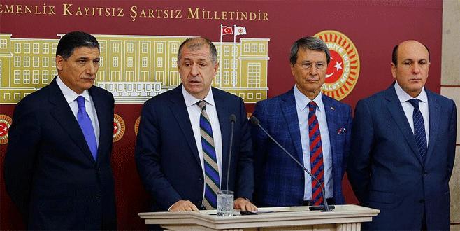 MHP'li 5 isimden başkanlık itirazı
