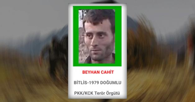 Başına 1 milyon TL ödül konulan terörist öldürüldü