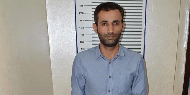 Mersin'de yakalanan terörist Kobani'de bomba eğitimi almış