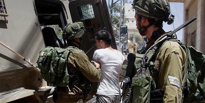 İsrail ordusu 13 Filistinliyi gözaltına aldı