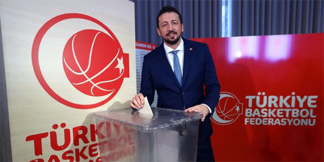 TBF başkanlığına Türkoğlu seçildi