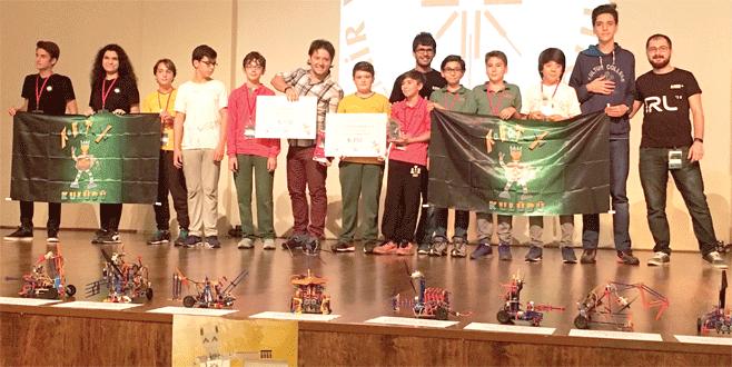 Robot yarışmasına Kültür damgası