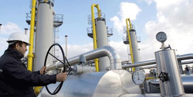 Türkiye'ye doğalgaz sevkiyatı %9,2 azalacak