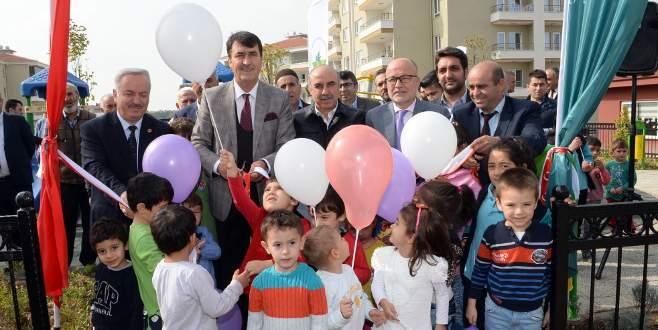 Osmangazi'de çocuklar için yeni park