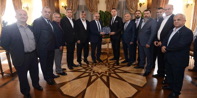 Turizm şehrinden Bursa'ya işbirliği mesajı