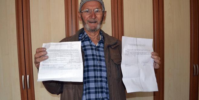 Bursalı çiftçiden HGS cezasına itiraz: Ceza gelen yolları kullanmadım
