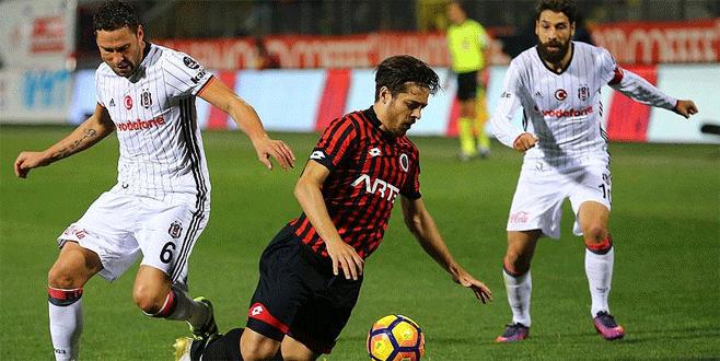 Gençlerbirliği 1-1 Beşiktaş