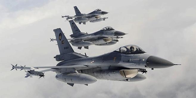 TSK'dan Irak'a hava harekatı