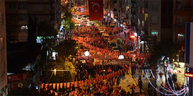 Yıldırım'dan, Cumhuriyet'in 93. yılına yakışır kutlama