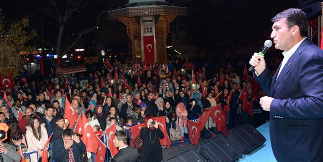 15 Temmuz Demokrasi Meydanı'nda Cumhuriyet Bayramı coşkusu