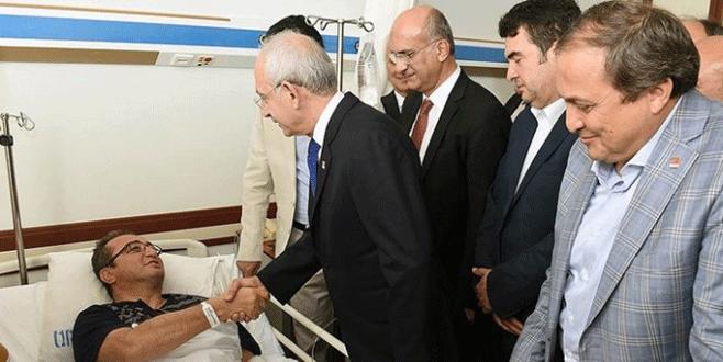 Kılıçdaroğlu, Tezcan'ı ziyaret etti