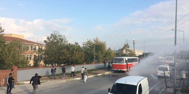 Bursa'da amatör maçta ortalık savaş alanına döndü