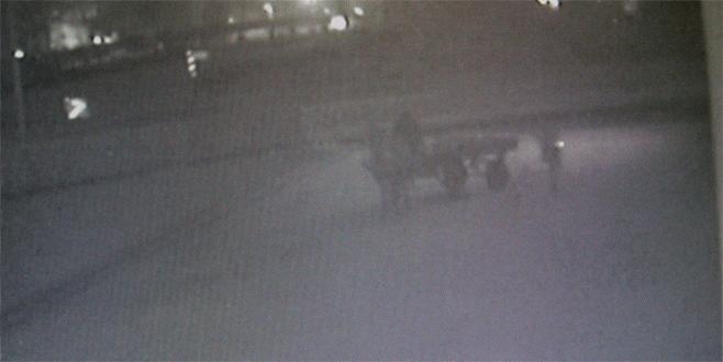 At arabalı hırsızlardan vurgun