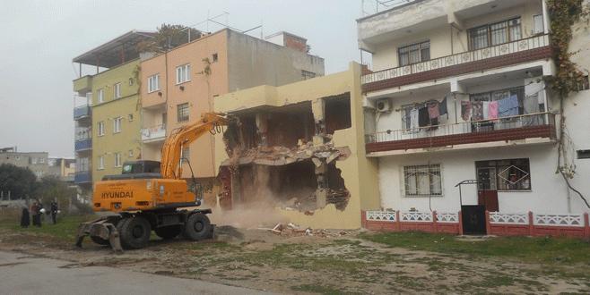 Bursa'da kaçak yapılarla mücadele sürüyor