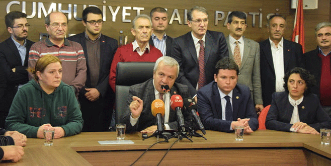 Şadi Özdemir'den CHP'ye yönelik saldırılara kınama