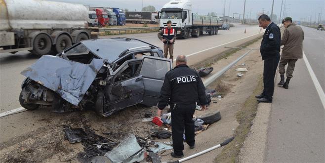 Bursa'da iki ayrı kaza: 3 yaralı