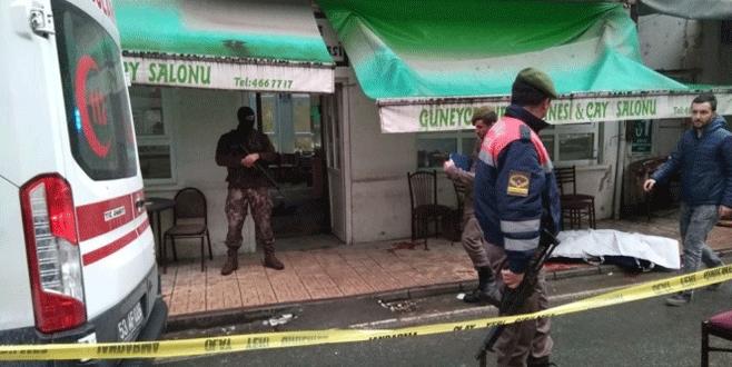Kahvehane tarandı: Ölü ve yaralılar var