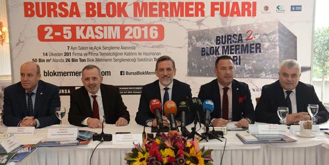 Blok Mermer Fuarı açılıyor