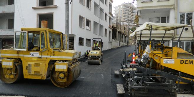 Mudanya'ya yıl sonuna kadar 20 bin ton asfalt